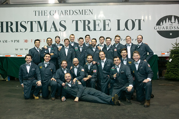 2018.12.16 The Guardsmen Tree Lot Party