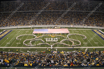 WVU vs Virginia Tech - Halftime Formations - 10/22/03