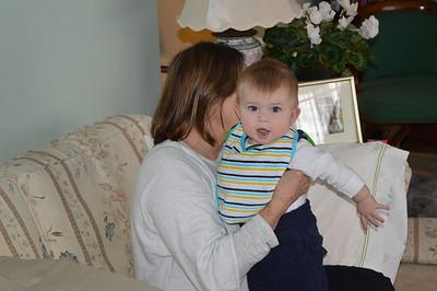 Jack at Grandma and Papa's