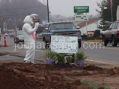 Queen Street - Route 10, Southington - April 13, 2001