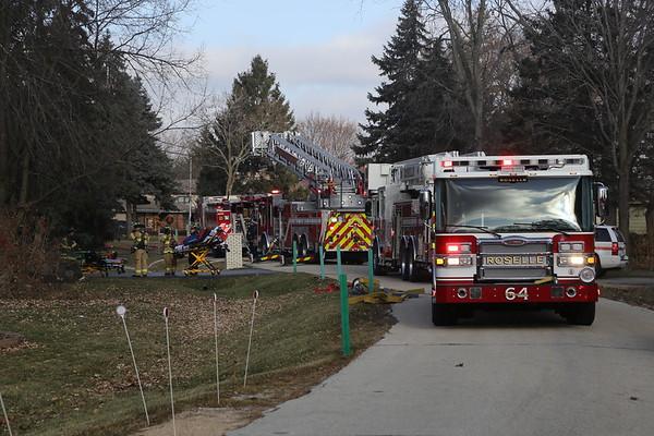 Bloomingdale attach garage fire 12-10-19