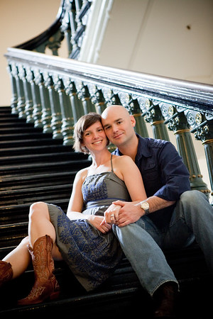 Luke and Aimee's Engagement Session   02.19.11