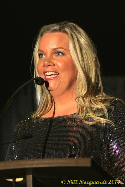 Jody Seeley - Awards show host - 2014 ACMAs