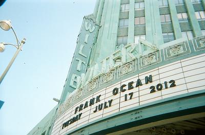 Frank Ocean | The Wiltern