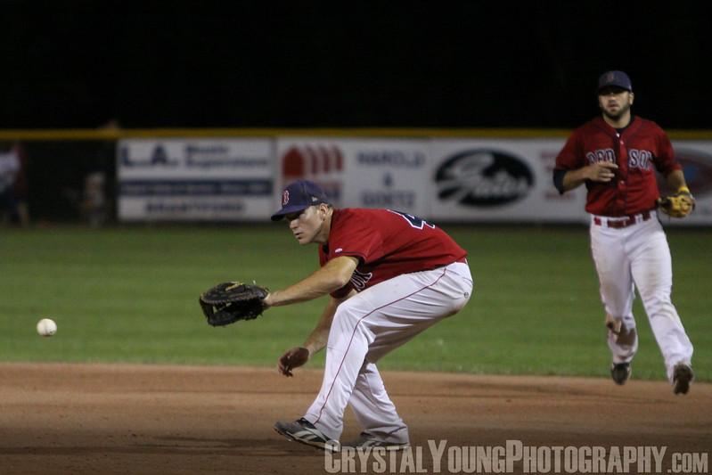 Burlington Twins at Brantford Red Sox IBL Playoffs, Round 1 Game 5 August 3,  2012