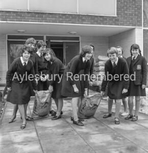 Coal for Aylesbury High School, Feb 1963