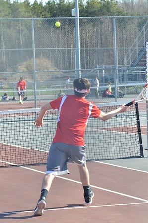 Boys Tennis vs Lowville 4-15-16