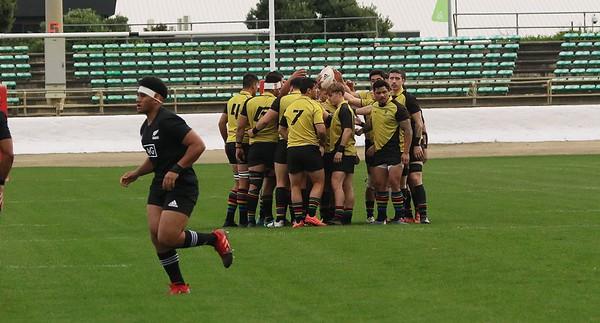 30 June: NZ U20s (40) v Wellington XV (0)