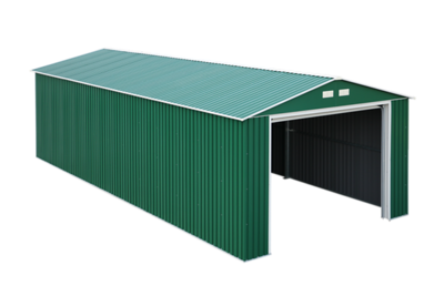 Imperial Metal Garage Green 12x32