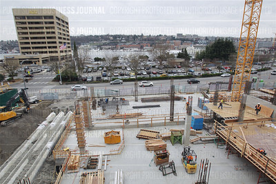 The 1101 Westlake develop continues construction in Seattle