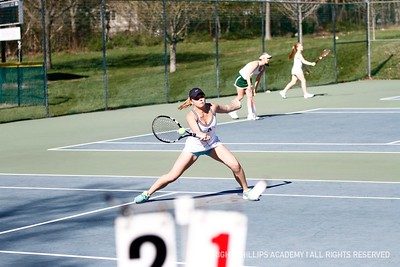 GV Tennis vs. Deerfield
