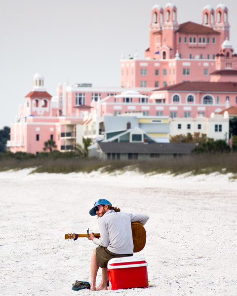 Guitar Player, Pass-a-Grille Beach, Florida (61535)