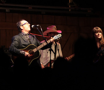 Lovell Sisters with Elvis Costello