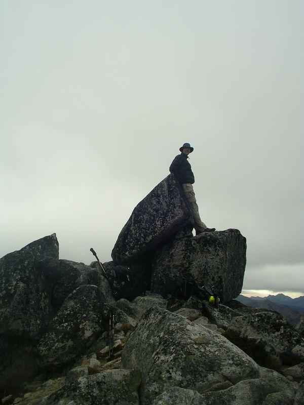 Robert on summit of Granite.