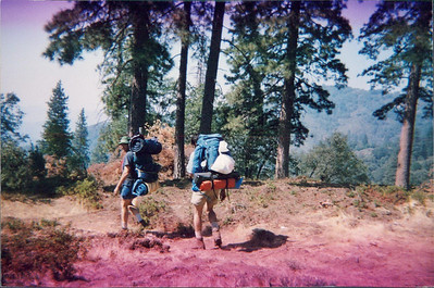 David, David and Davene up to the mountains