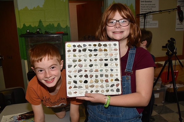 Fisher's Fourth Grade Geologists photos by Gary Baker