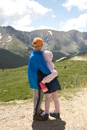 Hiking at Loveland Pass