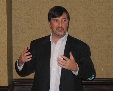 November 8, 2012, Ron McDaniel, presenter for Using Blogs and Social Media.