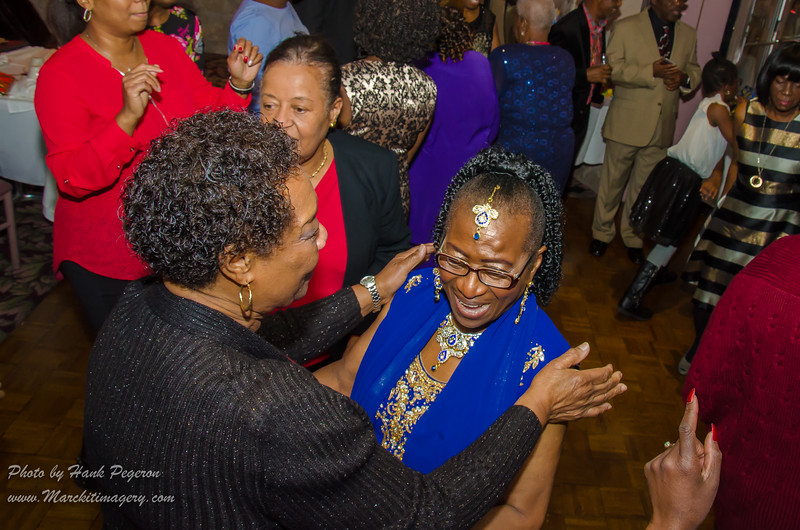 Elizabeth Hyacinth Rigby Cuffie's 80th Bday Party