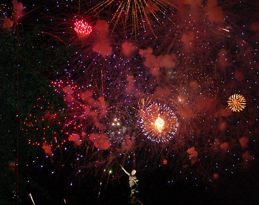 The best of Birmingham's Thunder on the Mountain Fireworks Show