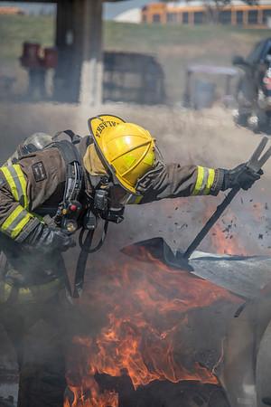 Academy 17-2 Car Fires