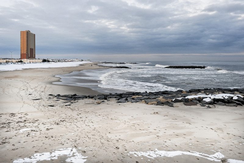 #186 Winter Beach, Asbury Park, NJ.
