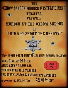 Murder at the Oxbow Saloon