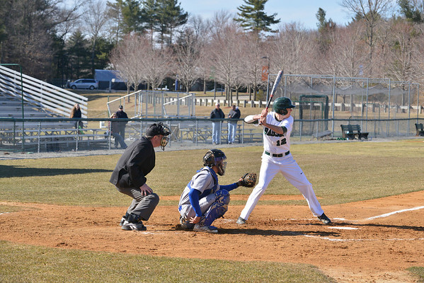 BABSON BASEBALL V COAST GUARD   4.1.2014.