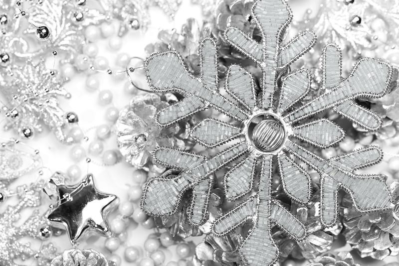 Closeup of Christmas ornament.