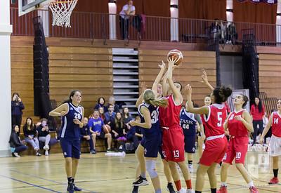 TASIS Girls Basketball vs  U17 Cassarate