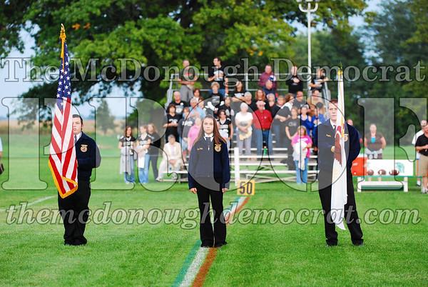 Homecoming Halftime Band & Cheerleaders 09-19-08