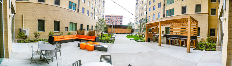 The Edge on Euclid Courtyard