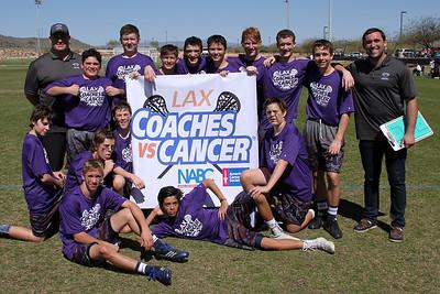 2015 Coaches vs Cancer Team Photos