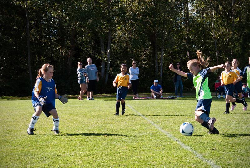 2012.09.30 - Soccer match vs. EV Koivu