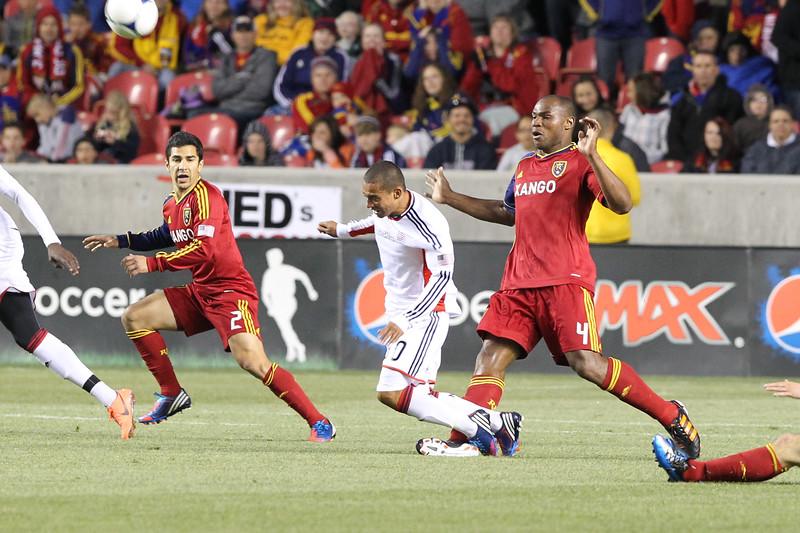 SOCCER: MAY 05 MLS - New England Revolution at Real Salt Lake