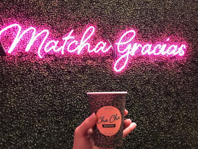 cha cha matcha new york city