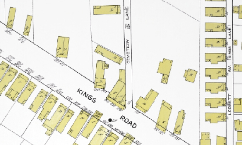 1913 Sanborn Map_Cemetery Lane.jpg