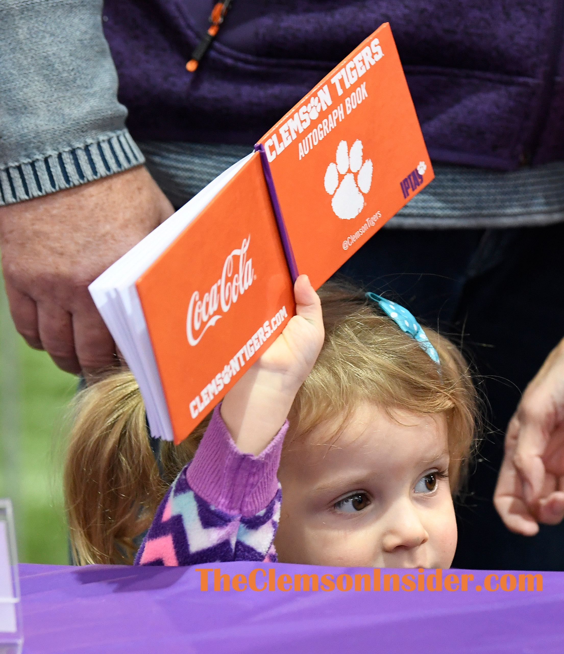 The Clemson baseball team held their fan day Saturday, February 8, 2020 in Clemson's indoor football practice facility. Bart Boatwright/The Clemson Insider