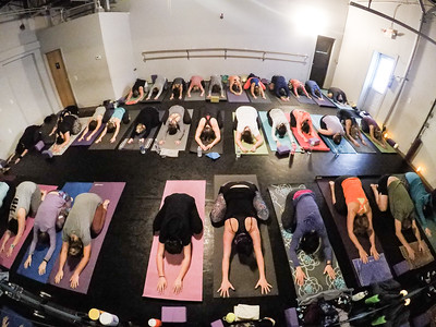 Prana Yoga Studio Thanksgiving Yoga Class Timelaspe