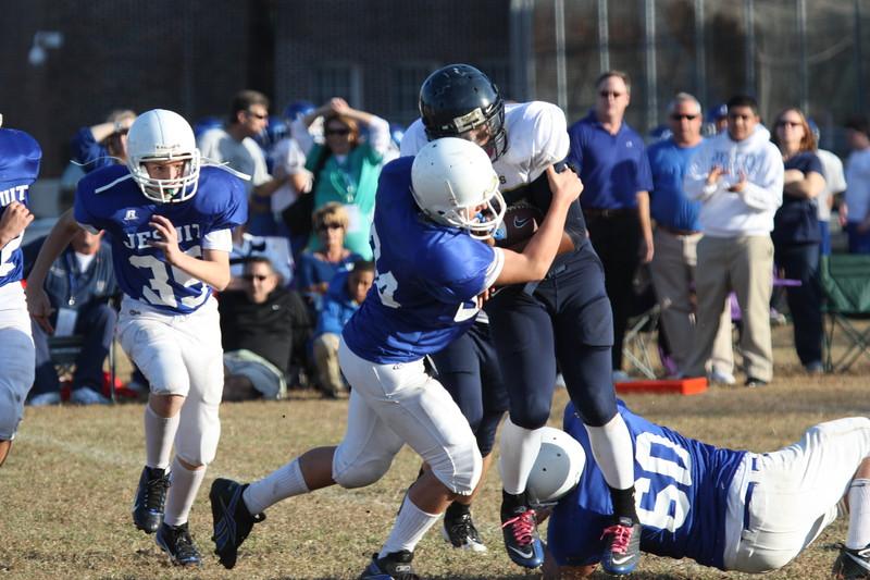 8th Football vs. Jesuit 016.JPG