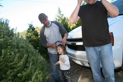 Christmas Tree Hunting '08