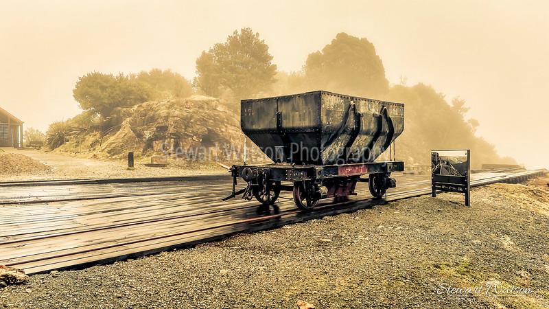 Denniston Coal mine carriage