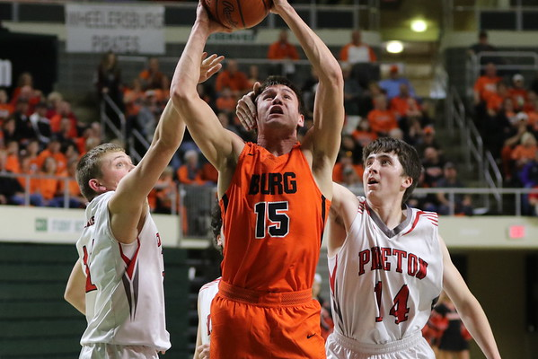23 Boys Basketball:  Wheelersburg vs. Piketon (District) 2018