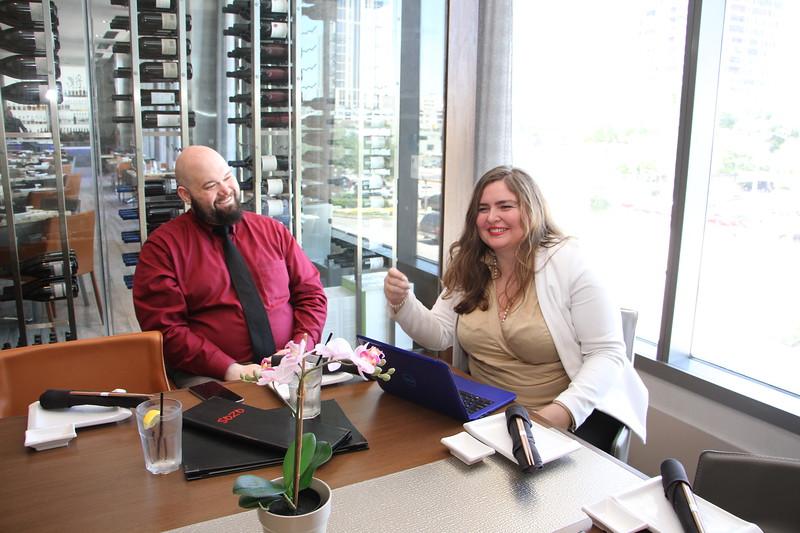 Sozo Sushi with IF Magazine's Sonia Giumbellot
