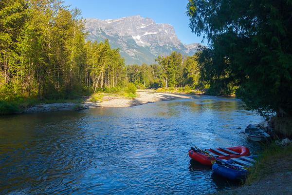 Atnarko River, British Columbia, Canada