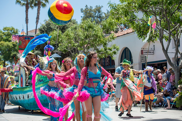 Solstice Parade Santa Barbara 2013
