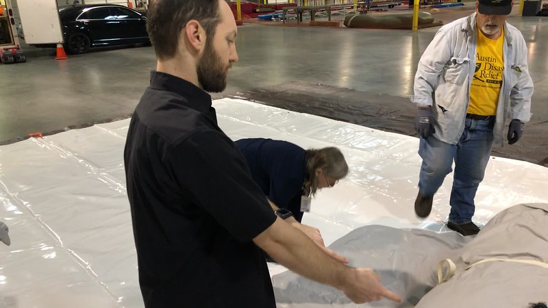 RDS | Shelter Placement and Unrolling Shelter onto Ground Tarp 20190511.MOV