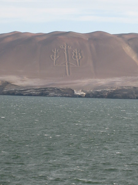 Paracas Candelabra, Pisco, Pru