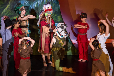 Peter Pan and the Indians