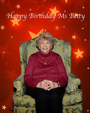 Ms Betty's Birthday